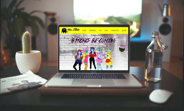 Mr. JBo Website